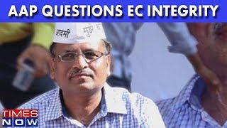 Charges Of Graft Against Satyendra Jain, AAP Questions EC's Integrity - TIMESNOWONLINE