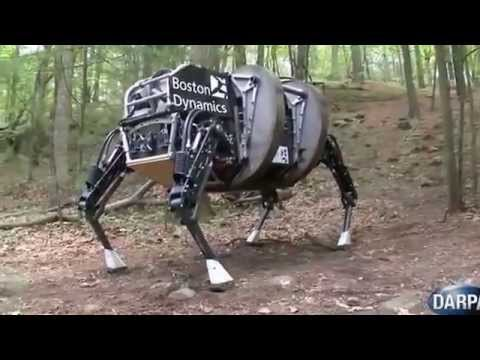 آخر ابتكارات الجيش الأمريكي. حصان آلي لحمل العتاد - روايات تيوب -YouTube DownLoader