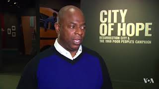 Museum Curator: 'Poor People's Campaign, MLK's Final Vision & Most Ambitious Dream' - VOAVIDEO