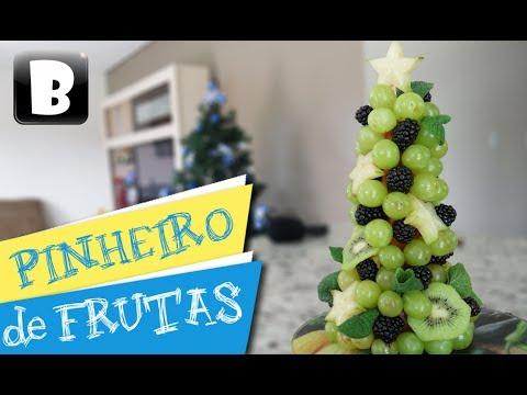 Pinheirinho de Frutas (Receita de Natal)