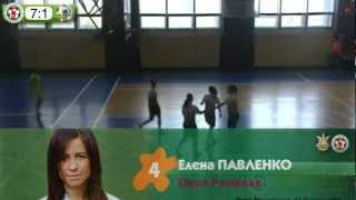 Беличанка, ФКЛ Интер, Луганск, НПУ, киев, женский футзал, мини-футбол, ВИДЕО