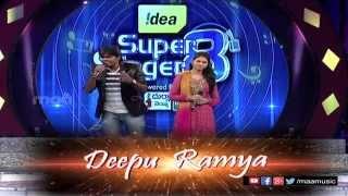 Super Singer 8 II Deepu & Ramya Performance - MAAMUSIC