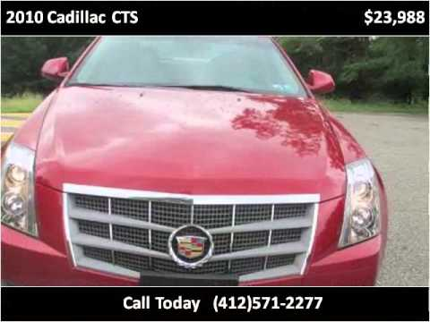 2010 Cadillac CTS Used Cars Pittsburg PA