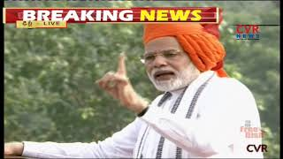 PM Modi's Speech from Red Fort | 72nd Independence Day | CVR News - CVRNEWSOFFICIAL