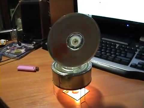 Homemade stirling engine
