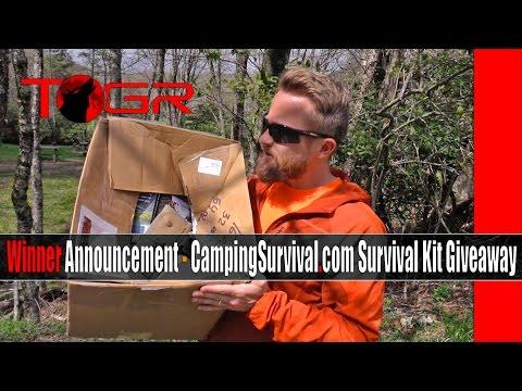 Winner Announcement - CampingSurvival.com Survival Kit Giveaway