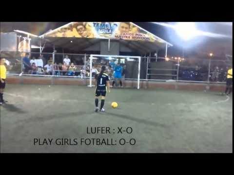 COPA FUTSAL SAN EDUARDO ( LUFER FC VS PLAY GIRLS FOTBALL) CUARTOS DE FINAL FEMENINO 2014