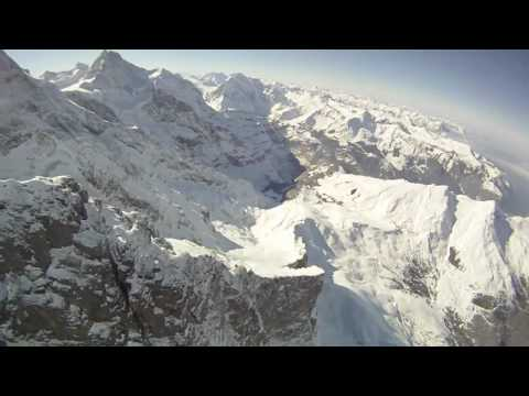Speedflying in Wengen 2010 by Halvor Angvik