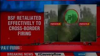 Exclusive video of Pakistan posts blown up in BSF retaliation in Arnia sector - NEWSXLIVE