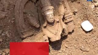 महाराष्ट्र: बीड जिले में मिली ये अति दुर्लभ मूर्ति - AAJTAKTV