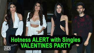 Hotness ALERT with Singles at VALENTINES Party | Punit Malhotra - IANSLIVE