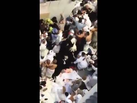 Tawaf bridge fallen in Khana kaba Makkah