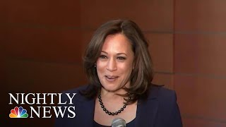 Senator Kamala Harris Announces Presidential Run   NBC Nightly News - NBCNEWS