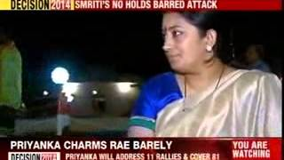 Smriti Irani will file her nomination from Amethi today - NEWSXLIVE