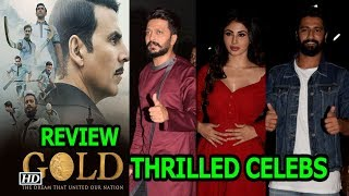 Akshay Kumar GOLD Shines | CELEBS are THRILLED | REVIEW - IANSLIVE