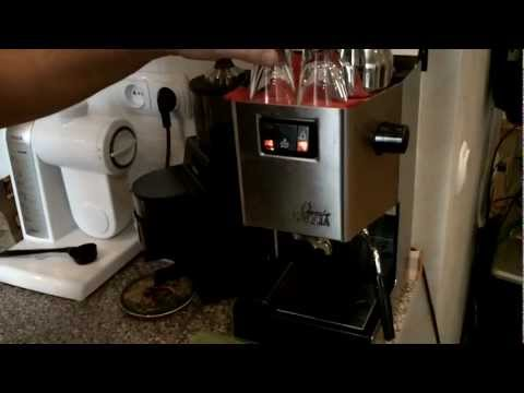 How to make an espresso with Gaggia Classic