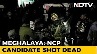 NCP Candidate Jonathone N Sangma Killed By Terrorists In Meghalaya - NDTV