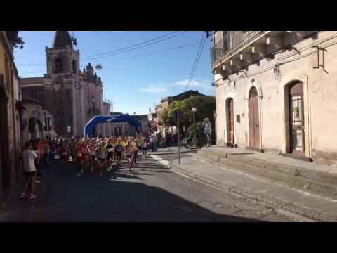 Partenza 19° Marcialonga Città di Gravina - Memorial Pitrolino