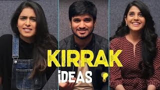 KIRRAK IDEAS Game | KIRRAK Party | Nikhil | Samyuktha | Simran Pareenja |TFPC - TFPC