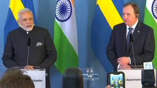 18 Apr, 2018:Sweden, India agree to strengthen cooperation on defence - ANIINDIAFILE