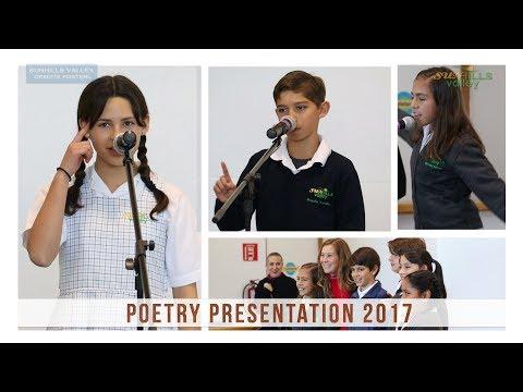 Poetry Presentation 2017