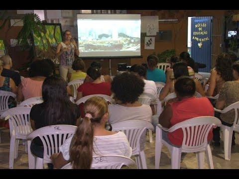 TV Costa Norte - Viveiro de Plantas sedia atividade alusiva ao 'Dia da Água' em Bertioga