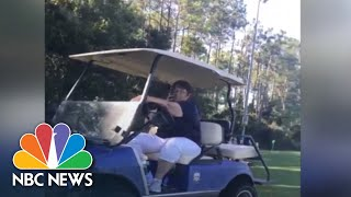Video Shows 'Golfcart Gail' Calling Police On Black Father At Soccer Game | NBC News - NBCNEWS
