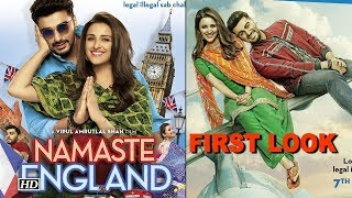 "Arjun Parineeti takes flight to London  FIRST LOOK ""Namastey England"" - IANSLIVE"
