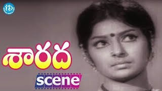 Sarada Movie Scenes - Sharada Comes To Know About Her Husband's Death || Shobhan Babu - IDREAMMOVIES