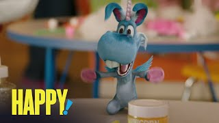 HAPPY! | What's In Nick's Easter Basket? | SYFY - SYFY