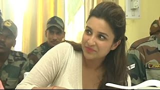 Parineeti on how she trained herself to use guns for 'Ishaqzaade' - NDTVINDIA