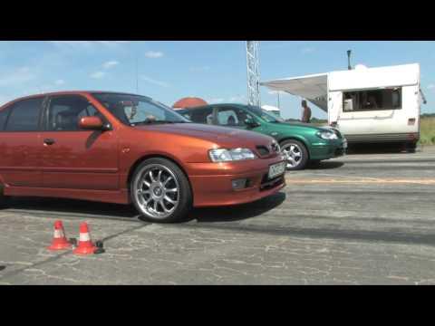 Nissan Primera P11 GT (16,841s) vs. Nissan Almera N16 1.8 (18,129s) @ Speednation 2009