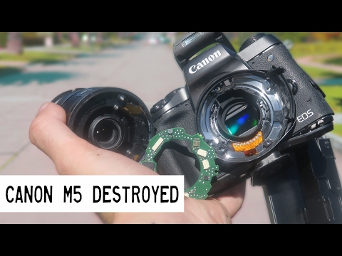 I Completely Destroyed My Canon M5!