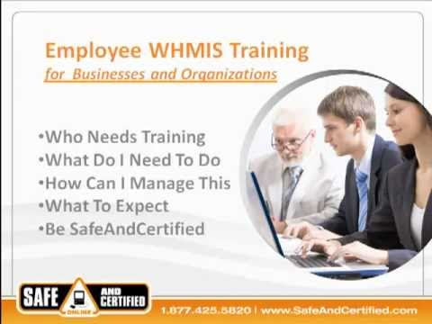 Online Whmis Training for Companies