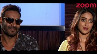Ajay And Ileana Talk About Their Movie 'Raid', Doing Different Types Of Roles And More - ZOOMDEKHO