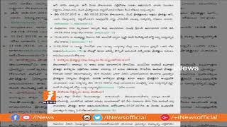 TRS Leader Harish Rao Open Letter To AP CM Chandrababu | Questions on Irrigation Projects | iNews - INEWS