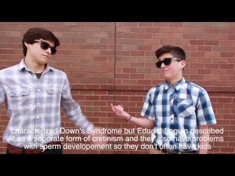 Down's Syndrome Music Video (Never Gonna Give You Up Parody)