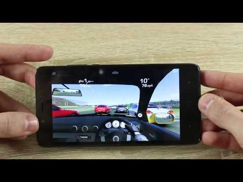 Elephone P6000 test gaming Real Racing 3 by GizChina.it
