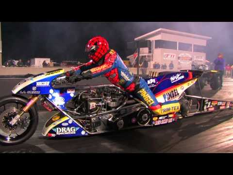 Top Fuel Nitro Motorcycle Import vs Harley - Larry