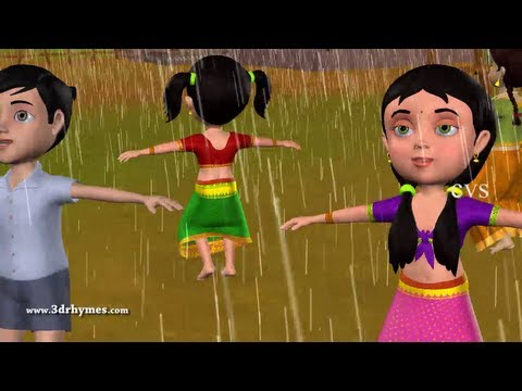 Vana Vana Vallappa - 3D Animation Telugu Rhymes for children with lyrics
