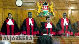 Kenya's supreme court to decide over Kenyatta's re-election - ALJAZEERAENGLISH