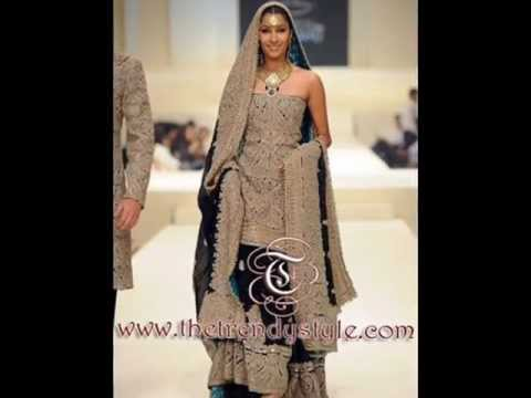 Wedding dresses fashion show full with Pakistani & Indian dresses.wmv