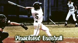 Royalty Free :Pianolated Baseball