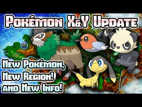 Pokémon X & Y: New Pokémon, Kalos Region, and TONS more!