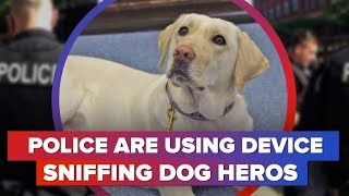 Device sniffing dogs being used by police - CNETTV