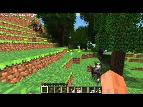 NightmareRH Playing Minecraft Vid 7 - Iron!