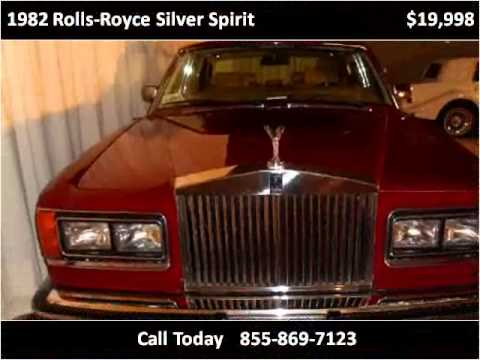 1982 Rolls-Royce Silver Spirit Used Cars Milwaukee WI