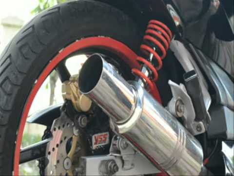 Knalpot Motor HKS Full Part