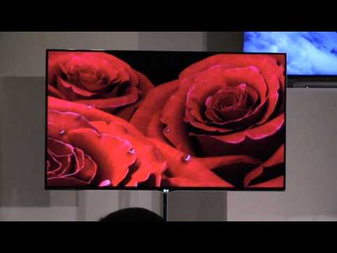 LG 55-Inch OLED TV first look at CES 2012