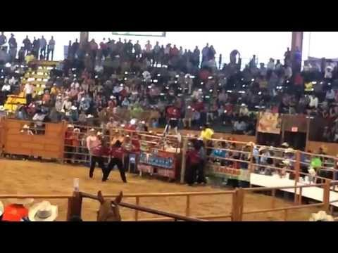 3er torneo jaripeo ranchero ( pretal de lazo) plaza garibaldi Houston Tx '14